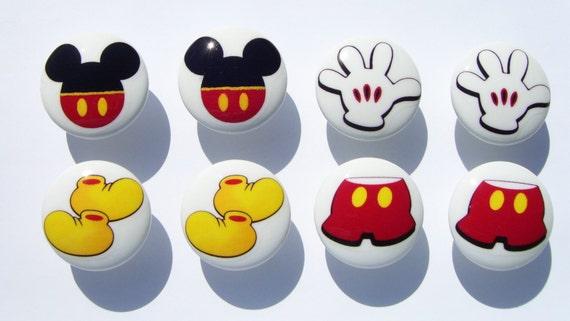 8 set Mickey Mouse Pants shoes ears gloves kids boys girls