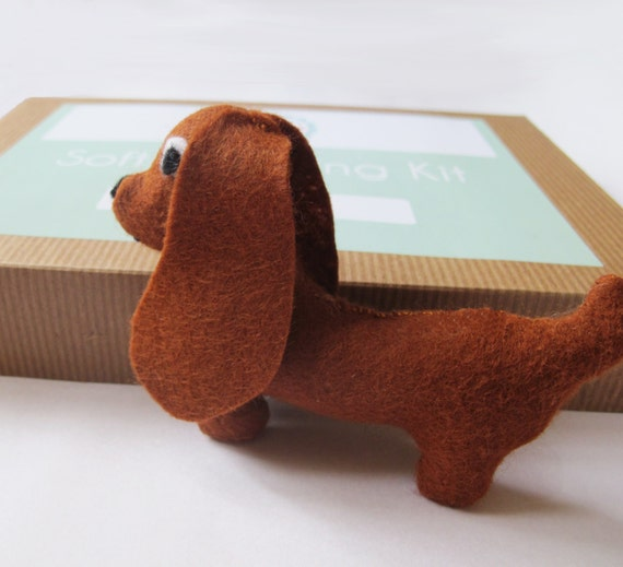 Make Your Own Sausage Dog Softie Felt Toy Sewing by SarahHurley