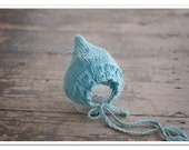 Newborn Bonnet Cable Knit