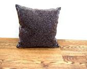 On Sale Vintage Brown Beaded Metallic Square Pillow  Online Vintage, vintage clothing, home accents, vintage dress
