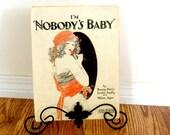 On Sale Vintage Sheet Music I'm Nobody's Baby Orange Decor Retro Living Single Woman