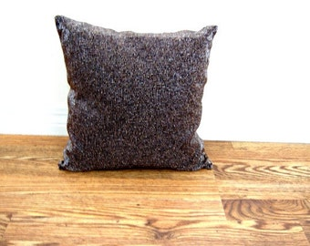 Vintage Brown Beaded Metallic Square Pillow  Online Vintage, vintage clothing, home accents, vintage dress