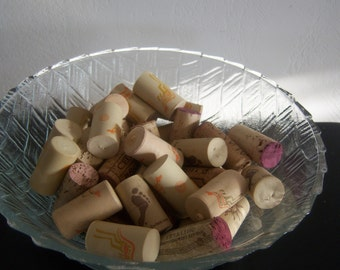 Craft Supplies 50 Used Corks Synthetic and Cork Material DIY Project