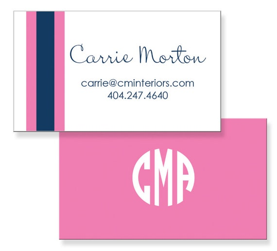 Personalized Calling Cards Etsy Business Cards Mommy Cards