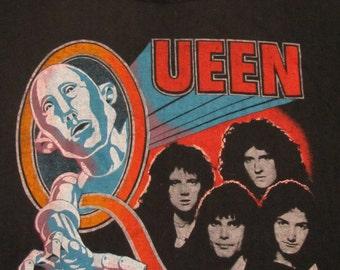 original QUEEN vintage 1977 tour SHIRT
