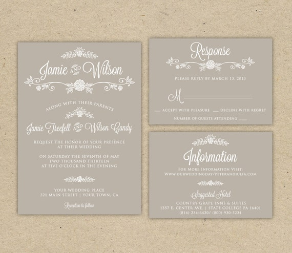 Wedding Invitation Rsvp Email Wording Yaseen for