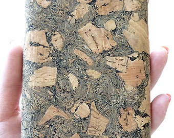 Black Cork case for Samsung Galaxy Note 2 II N7100 ALL CARRIERS