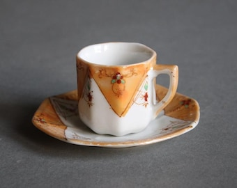 Antique Mini Cup and Saucer