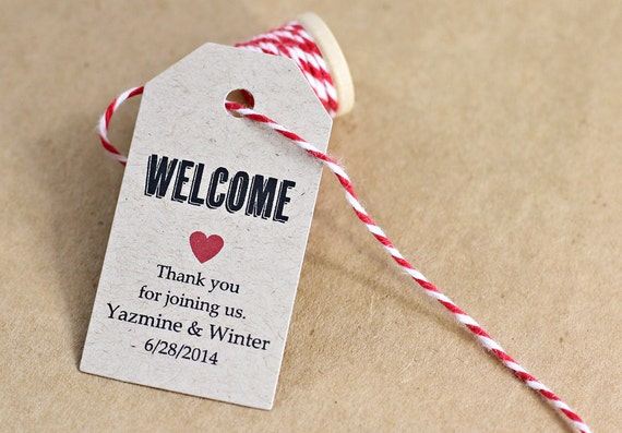 Wedding Gift Luggage Tags : Wedding Gift Bag Tag, Hostess Gift, Hotel Bag, Bridal Shower Favor Tag ...