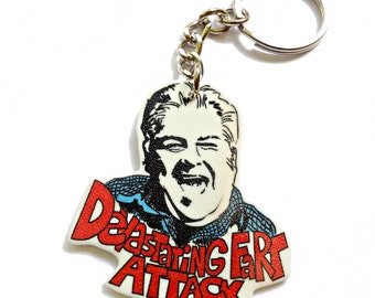 Devastating Fart Attack Keychain