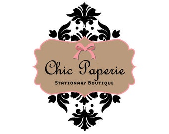 Premade Logo design- Chic Paperie Logo Design