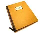 Personalized Large Guest Book / Journal / Sketchbook