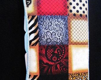 Diaper Wipe Case in Black, Red, Tan