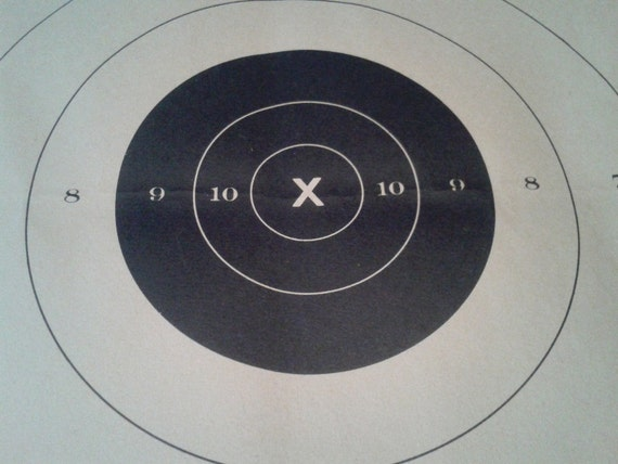 photo relating to Printable Nra Pistol Targets named 25 Garden Pistol Aim