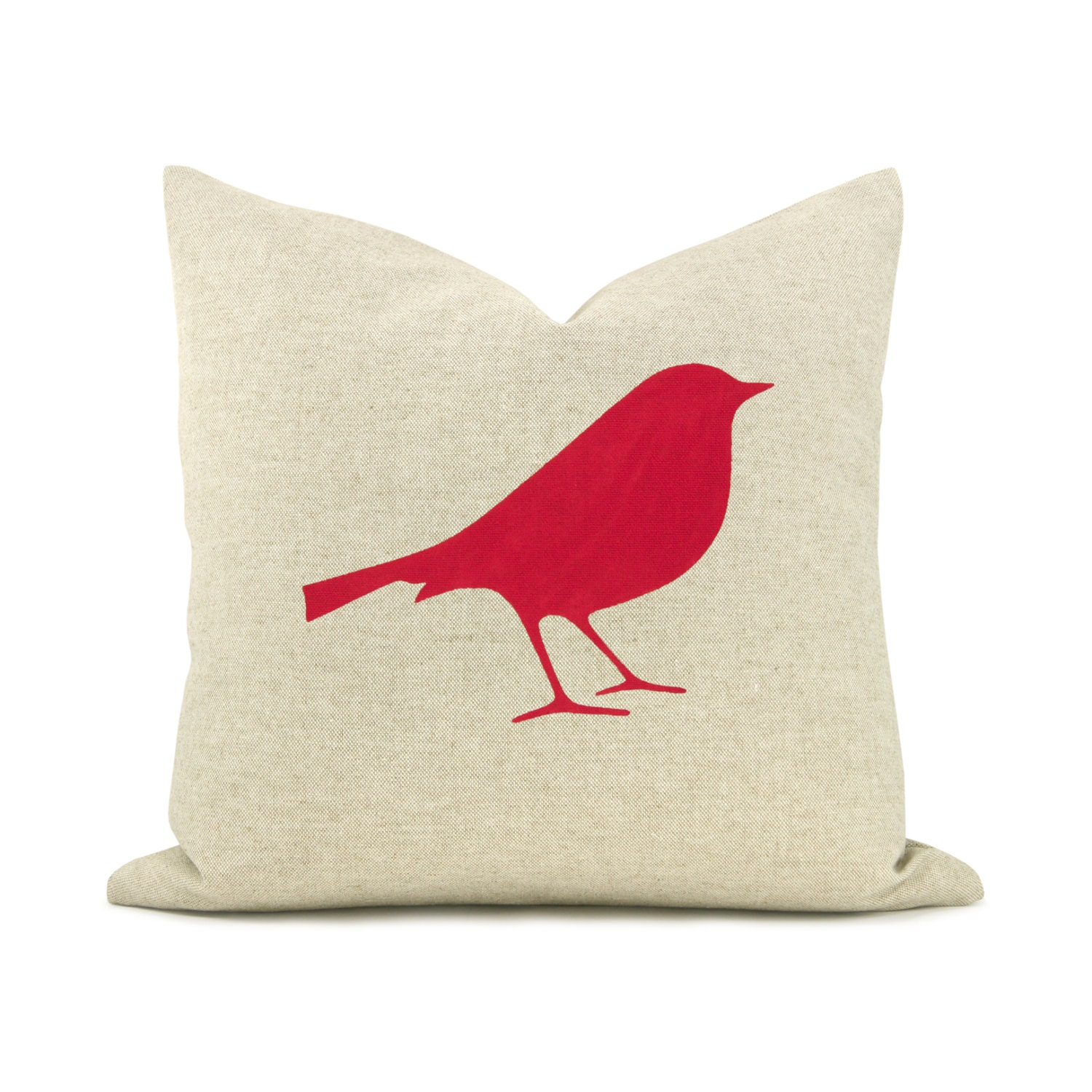 Throw Pillows With Birds : 16x16 decorative throw pillow Bird pillow cover Modern