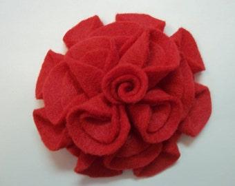 Add a Felt Flower to any Sleep Mask - Red