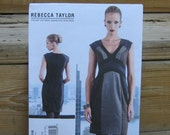VOGUE Dress Pattern, Spring, Fall and Winter Dress, Rebecca Taylor for Vogue 1316, SZ 4 through 12