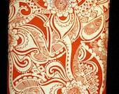 CLEARANCE_E-reader Sleeve Orange Paisley