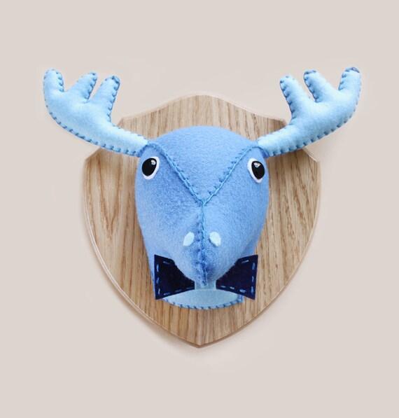 Unavailable listing on etsy - Fake stuffed moose head ...