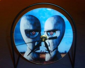 Pink Floyd Division Bell Recycled CD Clock Art