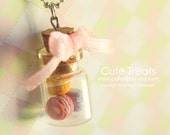 Macaroons in a Jar Necklace