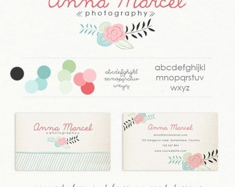 DIY Logo and Business Card - Anna Marcel