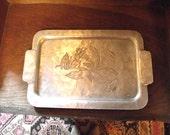 Vintage Deco Tray, Vanity Tray, Kitchen tray,