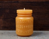 Beeswax Candle - -New Style- Md. Vaseline Jar - by Pollen Arts