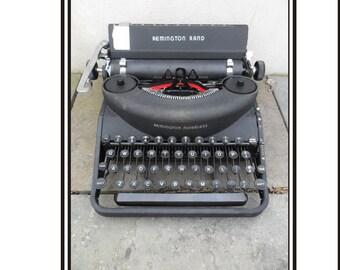 1930s Remington Manual Typewriter - Not Working