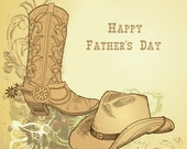 Father's Day Card - Cowboy Style
