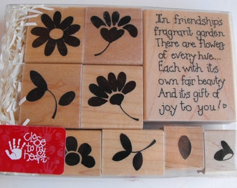 CTMH Close to my heart - Stamp Set - S342 In Friendships Garden - Set 26
