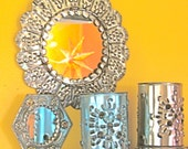 Take 20% Off Mexican Punched Tin Frame Mirrors & Votives Collection