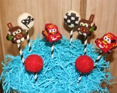 Mom's Killer Cakes & Cookies Car Race Car Cake Pops Assortment Southern Living  Featured Seller