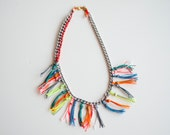 Forklore Neon Necklace - Colorful statement piece