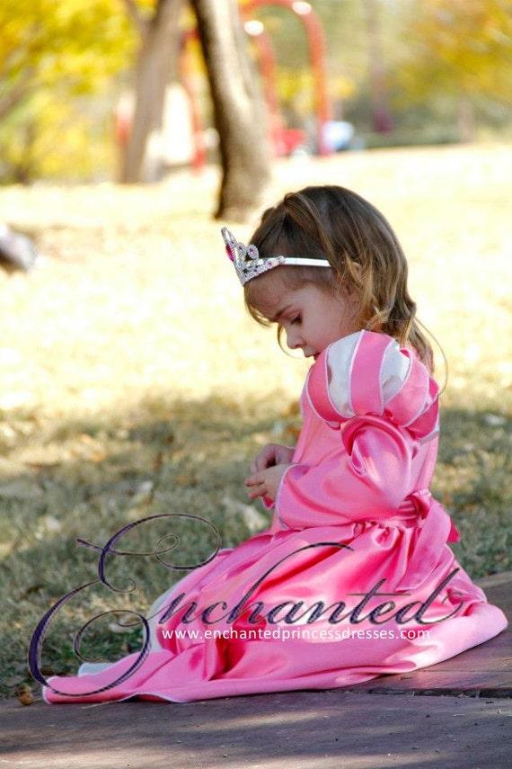Ariel Pink Ballgown Disney Princess Dress Size 3T costume