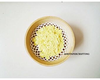 Sequins Glossy - Opaque Lemon Tart