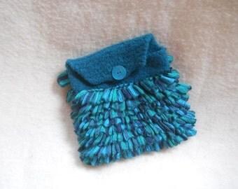 Wool & Ruffle Clutch