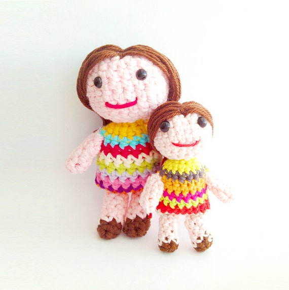 Crochet Doll Pattern Download : Items similar to Crochet Doll Pattern - Instant Download ...