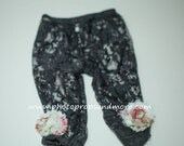 black Footless tights, Lace leggings, Lace tights, Baby leggings, girls leggings, girl tights - photo prop