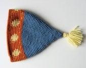 toddler child's wool stocking cap hat