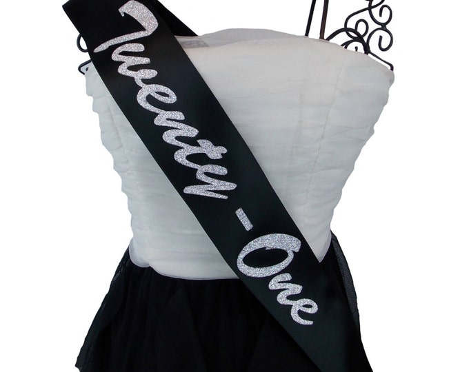 Birthday Sash Choose Any Number