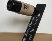 Custom Order For Kelly Wilkins Chalk Board Wine Holders