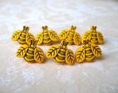 Honey Bee Thumbtack, Animal Push Pin, Animal Notice Board Pins, Bee Thumbtack