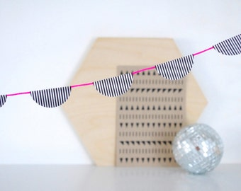 Mini Garland - Neon Pink  3.25ft ( 1.0m )
