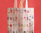 Fifi Lapin Pink Tote Bag