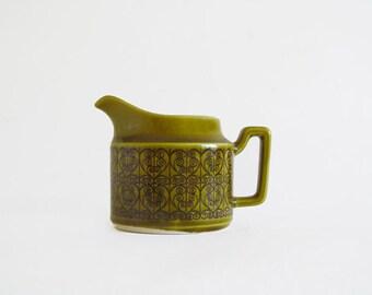 Vintage Jospeh Magnin Olive Green Creamer