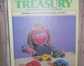 Vintage Children's Book - The Sesame Street Treasury with Jim Henson's Muppets Volume 3 - 1983