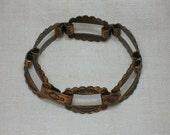 Copper Bracelet, Mid Century Western Style