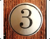 Numbered Circle Border Knobs
