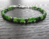 peridot bracelet, new mom gift, august birthstone, green bracelet, peridot gemstone, birthstone jewelry, peridot jewelry, august birthday